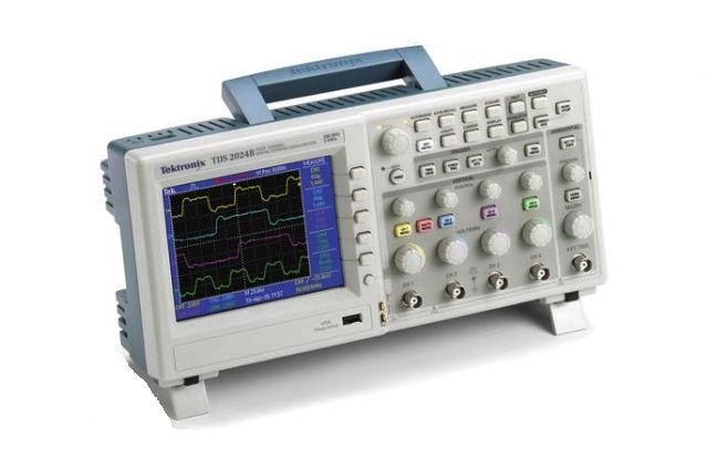 Tds2012b Tektronix 100 Mhz 2 Channel Digital Oscilloscope Used
