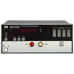 8158B Agilent Optical Attenuator