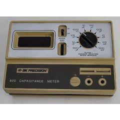 820 BK Precision Capacitance Meter
