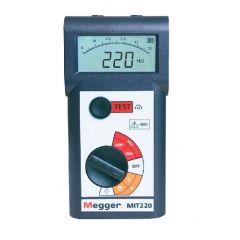 MIT220-EN Megger Insulation Tester