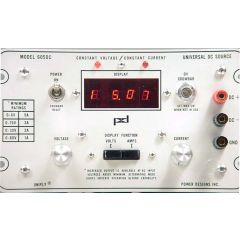 6050C Power Designs DC Power Supply