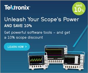 Tektronix Scope Promotion
