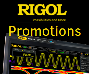 Rigol Promotions