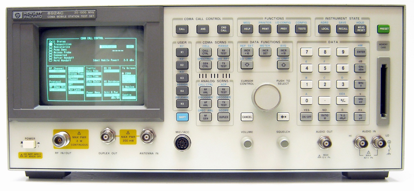 Image of Agilent-HP-8924C by Valuetronics International Inc