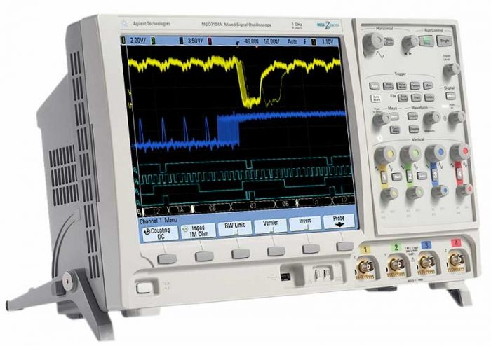 DSO7034B Agilent 350 MHz 4 Channel Digital Oscilloscope Used