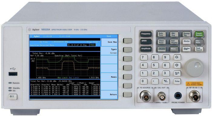 N9320A Agilent Spectrum Analyzer