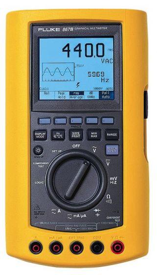867b fluke handheld multimeter used rh valuetronics com Fluke Multimeter fluke 867b manual pdf