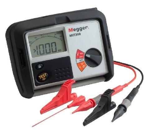 MIT300-EN Megger Insulation Tester