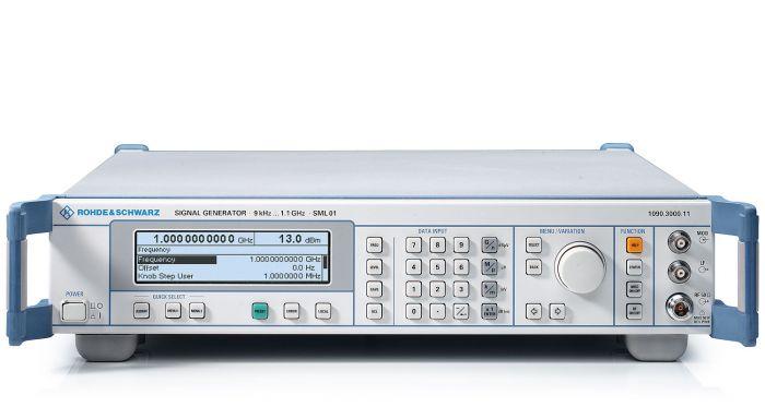 SML01 Rohde & Schwarz 1 1 GHz RF Generator Used