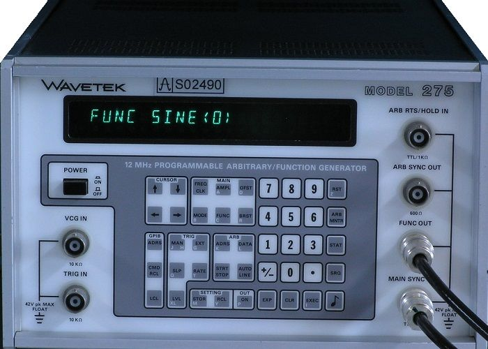 275 WaveTek 12 MHz Arbitrary Waveform Generator Used