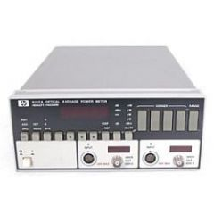 8152A Agilent Optical Meter