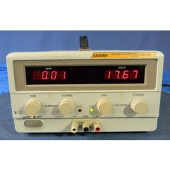 718-10D Leader DC Power Supply