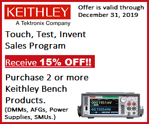 Keithley banner