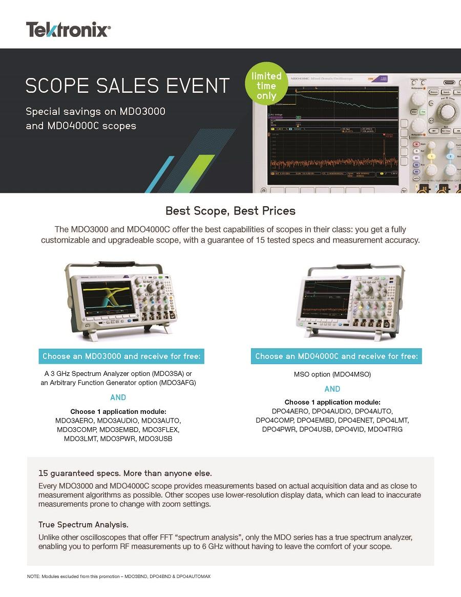 Tek Scope Sales Event