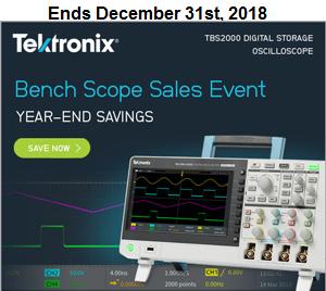 Tektronix Bench Scope Sales Event